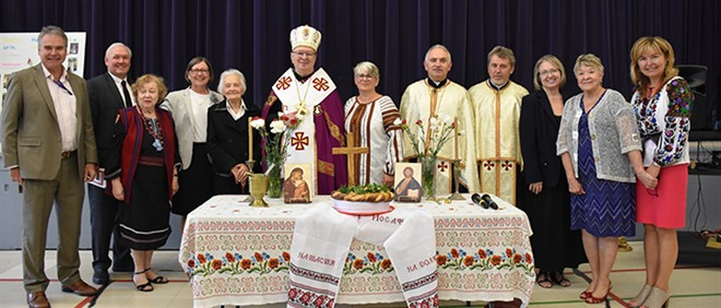 Blessing of New St. Josaphat School Location