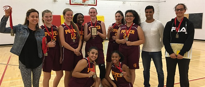Junior Girls Basketball Pre-Season Winners