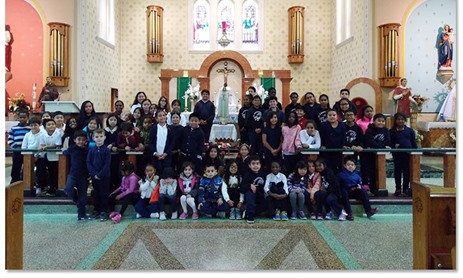 St. Lawrence Celebrates Rosary Day
