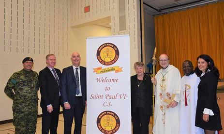 St. Paul VI celebrates Canonization of Pope Paul VI and Renaming of School