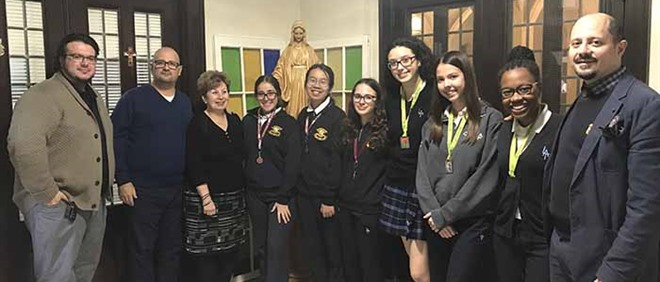 Virtues of the Month and Catholic Graduate Expectations Award Recipients