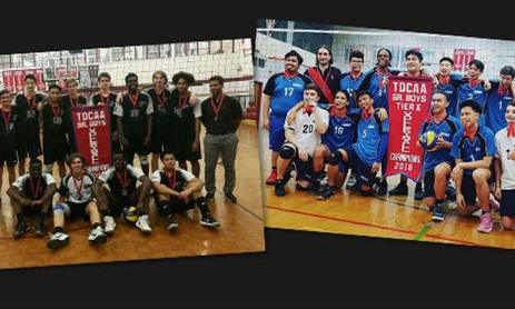 TDCAA Boys Tiers 1 & 2 Senior Volleyball Champions