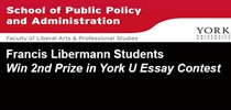 York U School of Public Policy &...