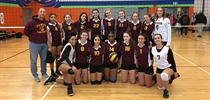 MPSJ Jr Girls Volleyball Win Pre-Season Tournament