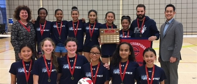 Girls Intermediate Volleyball Champs