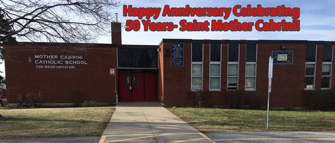 Celebrating 50 Years at Saint Mother Cabrini