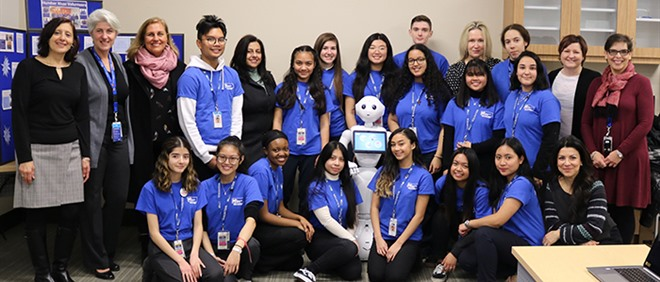 TCDSB Students and Staff at Humber River Hospital Co-Op Fair