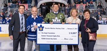 AFL Toronto Receives $16,000 from Toronto Marlies
