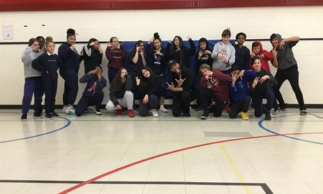 Former TCDSB Graduate & Professional Choreographer Brings the Joy of Dance to St. Rita