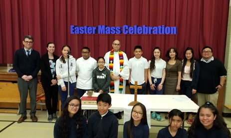 Easter School Mass Celebration