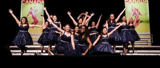 Power House Show Choir at SCC Championship