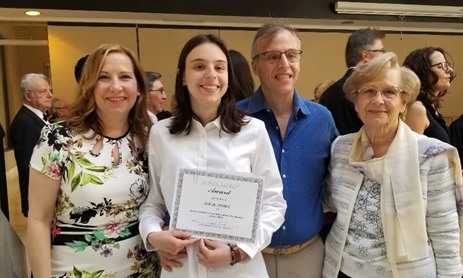 MPSJ Student Receives Scholarship from Coro San Marco