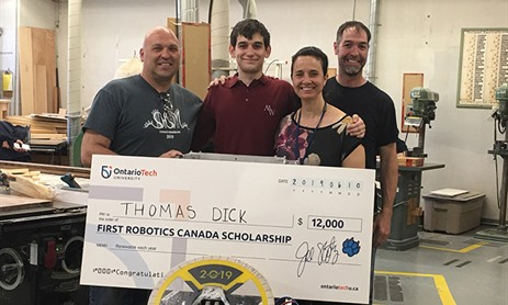 Mary Ward student receives Ontario Tech University Scholarship