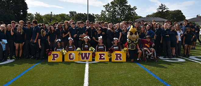 Michael Power/St. Joseph Officially Opens their New Sports Field