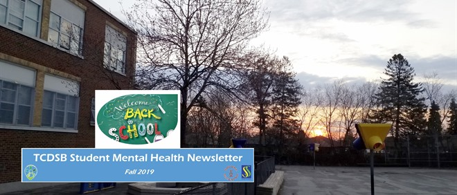 Student Mental Health Newsletter