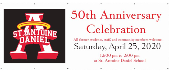 St. Antoine Daniel 50th Anniversary Celebration