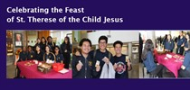 Celebrating the Feast of St. Therese of the Child Jesus...