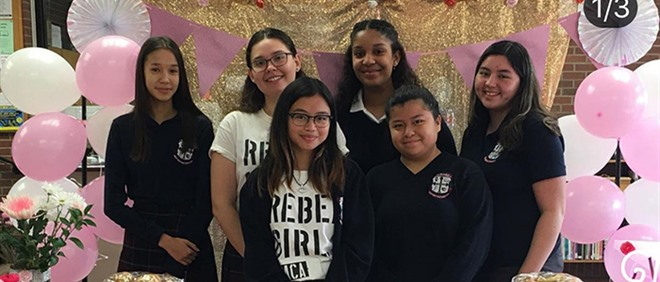 SMCA Rebel Girls Celebrate National Persons Day