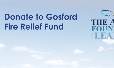 Donate to Relief Fund for Families Affected by Gosford Fire