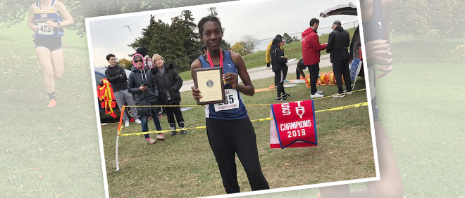 SMT Student Competes in the 2019 Canadian Cross Country Championship
