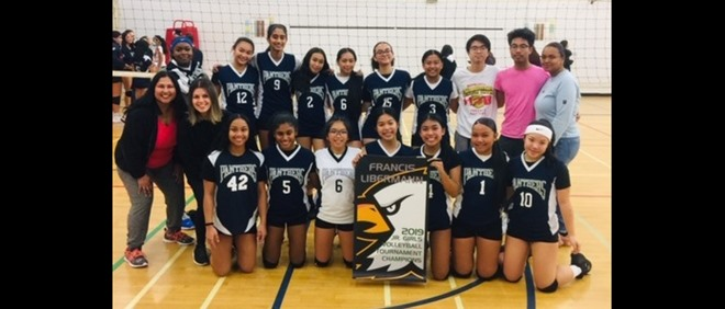 St. JPII Wins Volleyball Tournament