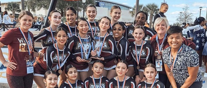 MPSJ Cheerleaders Win Bronze!