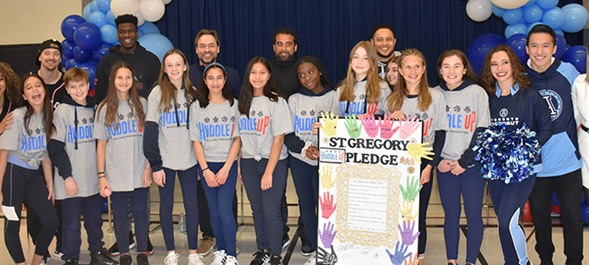 TCDSB Joins Forces with MLSE for Huddle Up Launch