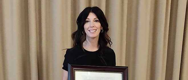 TCDSB Teacher Received Reading Award