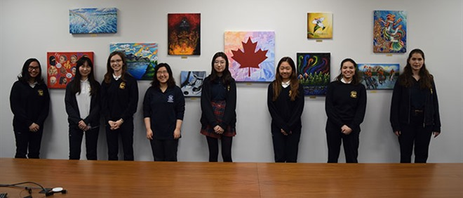 Carter Students Create Artwork for Rakuten