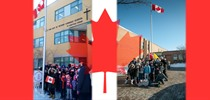 TCDSB Schools Raise Flag for 50th Anniversary