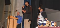 NBA player Sim Bhullar pays tribute to Fr. Henry Carr