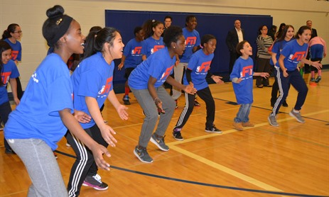 All Smiles for NBA FIT Celebrations!