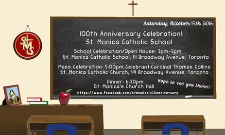 St. Monica's 100th Anniversary
