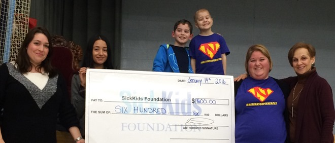 St Alphonsus Raises Funds in honour of JK Student