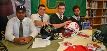 Chaminade Football Players Sign with Universities