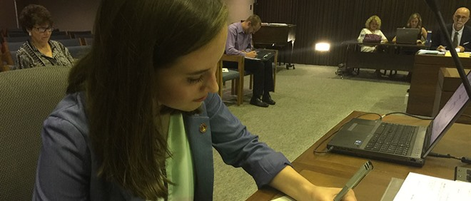 Student Trustee Takes Oath of Office