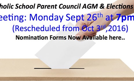 CSPC Election - Nomination Forms Available