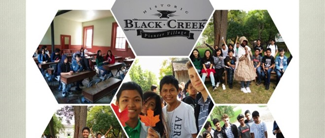 Francis Libermann ESL Students Learning Canadian Heritage at Black Creek Pioneer Village