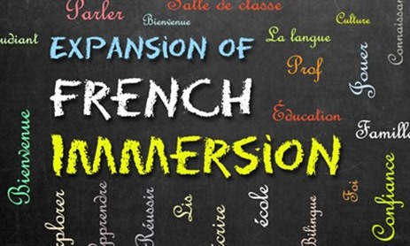 French Immersion Coming for September 2017