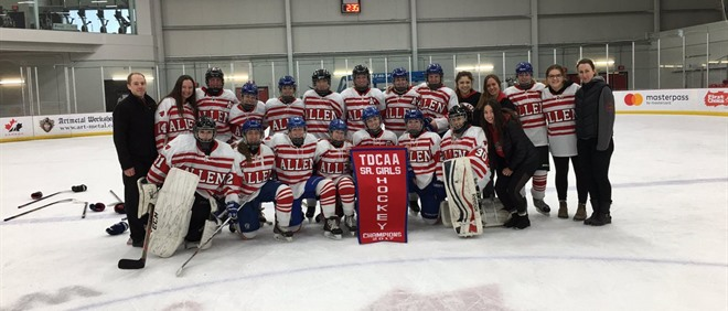 Bishop Allen Wins Senior Girls A Hockey Title