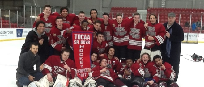 Neil McNeil Wins TDCAA Senior Hockey Championships