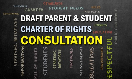 Community Consultation Draft Parent and Student Charter of Rights