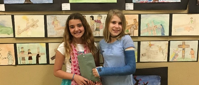 St. Cecilia Students hold Fundraiser for CIBC Cancer Research Foundation