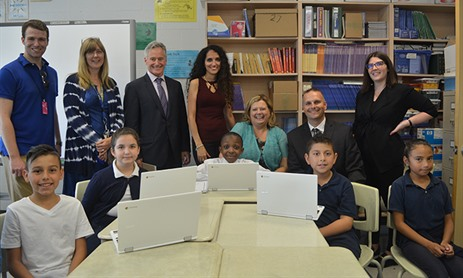 Our Lady of Victory Students Winners of Canada Learning Code Week