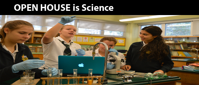 OPEN HOUSE is Science