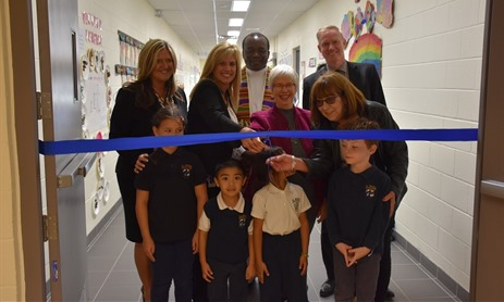 St. Victor Celebrates Official Opening of New Addition