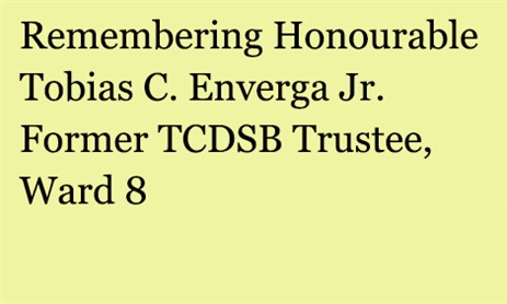 In Memory of Tobias Enverga