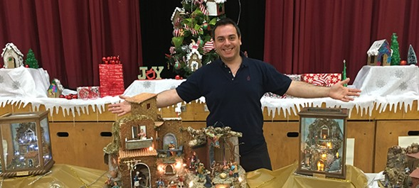 Nativity Scenes a Family Tradition for Custodian