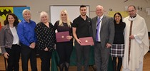 Luigi Marchione and Ashley Tedesco Recipients of Peter...
