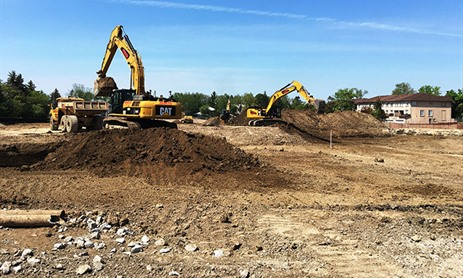 St. Joseph Morrow Park Construction Status Updates